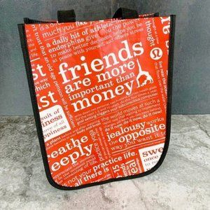 LULULEMON Small Shopper Tote 9x12x4 Red
